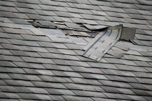 Roof Damage - Wind Damage - Free Roof Inspections with Brotherhood Roofing